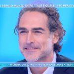 """Sergio Muniz diventa papà, l'annuncio a Domenica Live: """"Sono emozionato"""""""