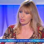 """Alessandra Mussolini a Domenica In confessa: """"Ho avuto molta paura"""""""