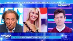 Foto Amedeo Goria confessione Domenica Live