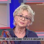 """Enrica Bonaccorti sugli abusi a Storie Italiane: """"Ne ho subito altri"""""""