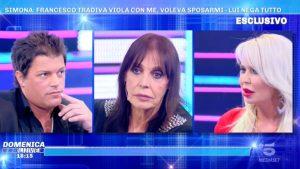 Foto confronto Viola Valentino Francesco Simona