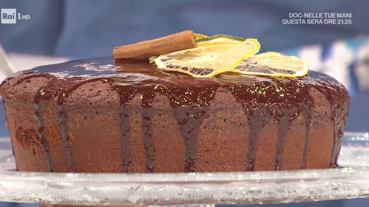 foto È sempre mezzogiorno torta cioccolato vino
