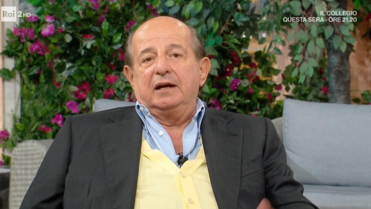 Giancarlo Magalli dimentica il microfono acceso: gaffe su Adriana Volpe