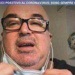 """Giovanni Ciacci disperato a Pomeriggio 5 per il Covid: """"Mi sentivo solo"""""""