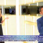 """Guenda Goria incontra Telemaco a Live Non è la D'Urso: """"Tante emozioni"""""""