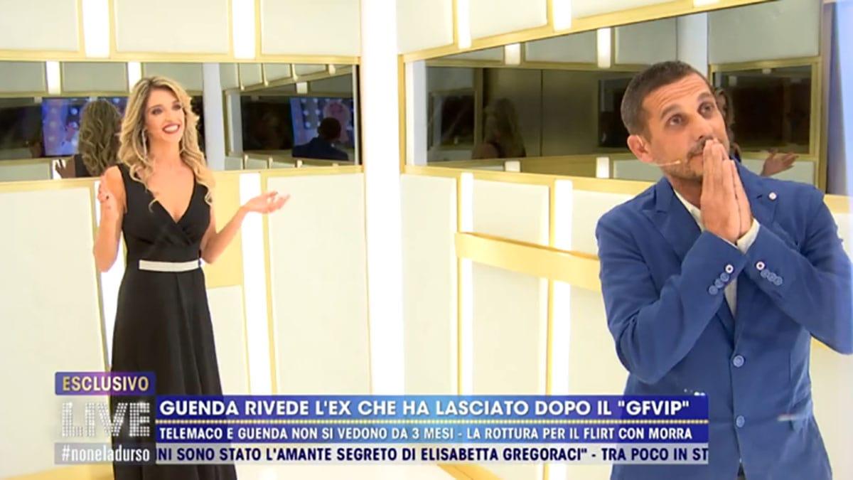 foto Guenda Goria e Telemaco Dell'Aquila a Live