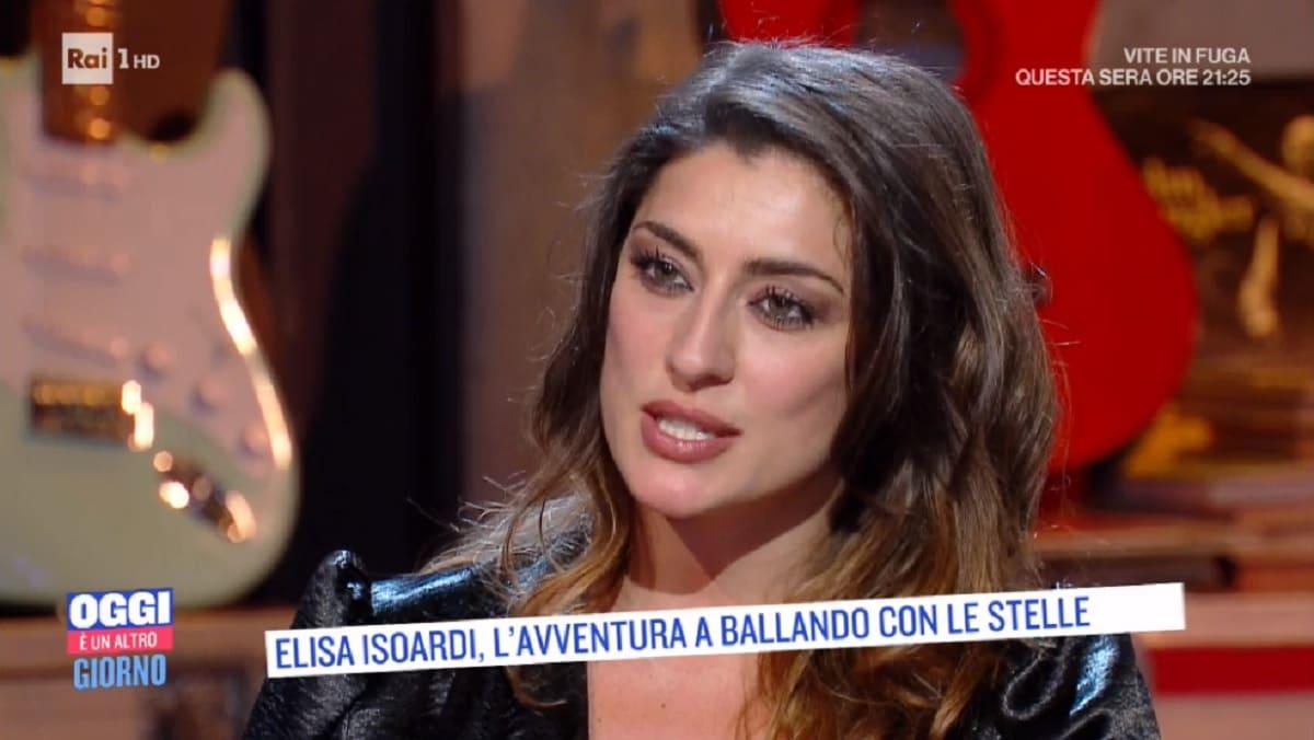foto di Elisa Isoardi ospite di Serena Bortone