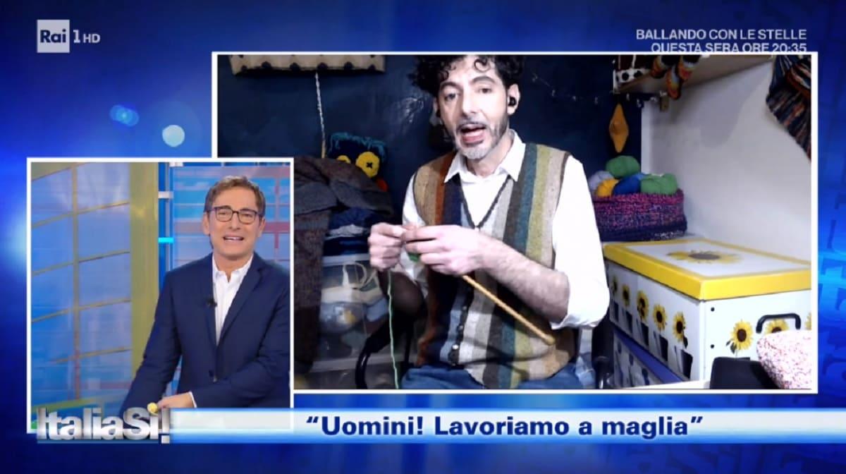 foto di Marco Liorni a Italia Si del 14 novembre