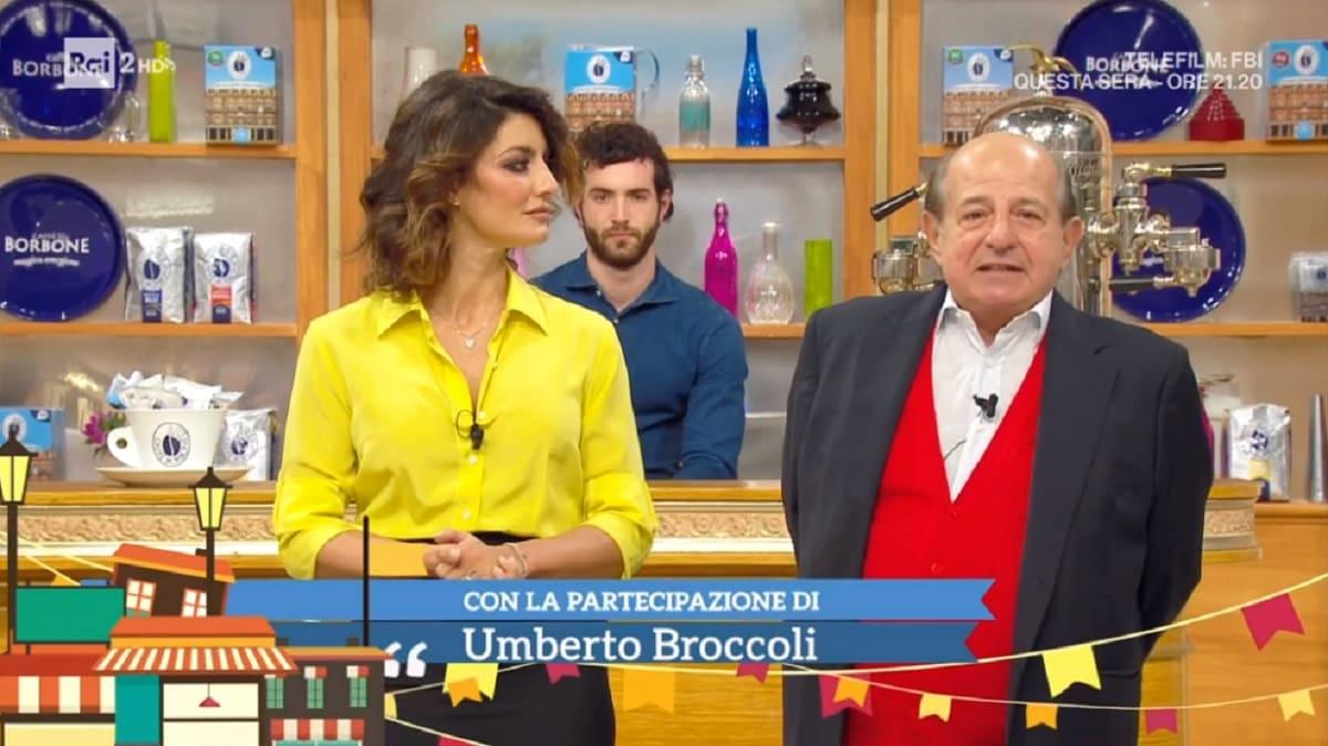 foto di Giancarlo Magalli e Samanta Togni del 5 novembre