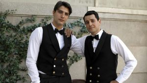 foto Salvatore e Marcello ne Il paradiso delle signore