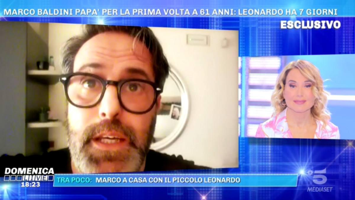 Foto Marco Baldini Barbara d'Urso Domenica Live
