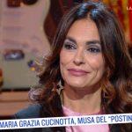 """Maria Grazia Cucinotta svela a Serena Bortone: """"Volevano riducessi il seno"""""""