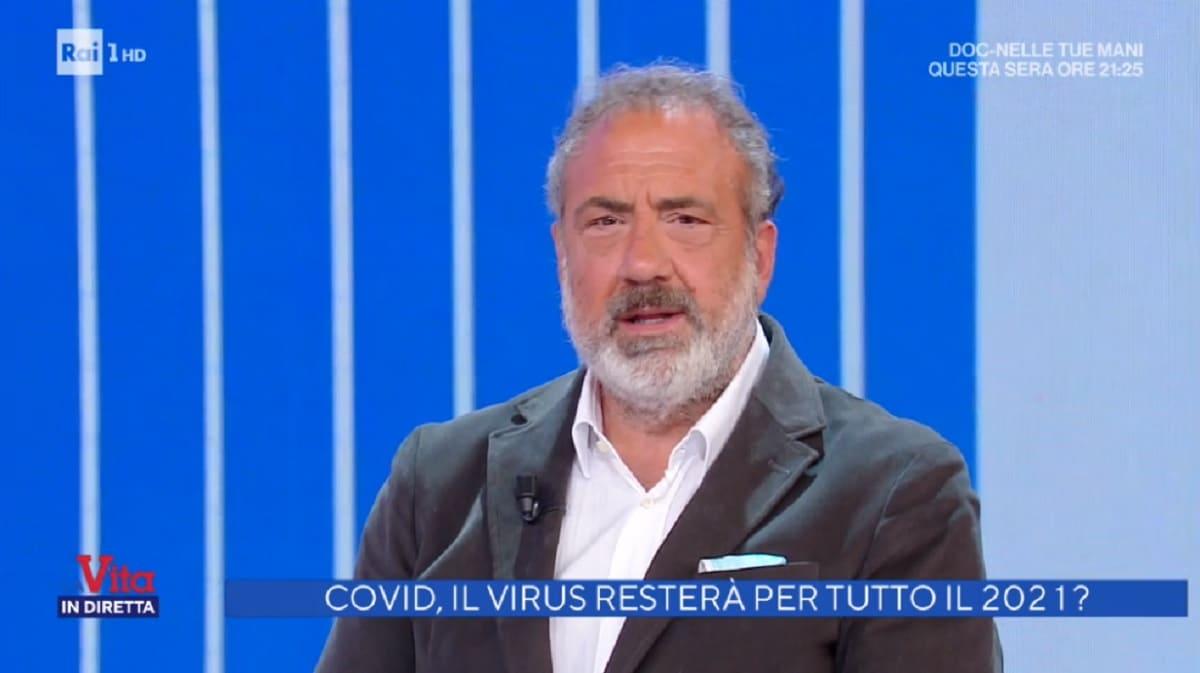 foto di Marcello Masi a La vita in diretta del 5 novembre