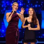 "Michelle Hunziker commette una gaffe ad All Together Now: ""Scusate"""