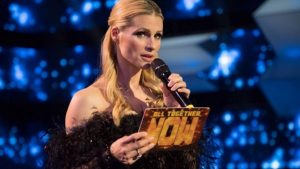 Foto Michelle Hunziker ascolti All Together Now