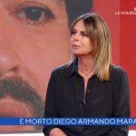 """Morte Maradona, Paola Perego a La vita in diretta: """"Faceva fatica a…"""""""