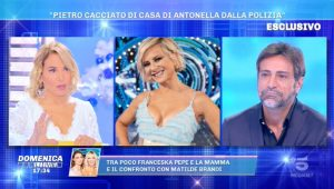 Foto Domenica Live Notizia Shock Pietro Delle Piane
