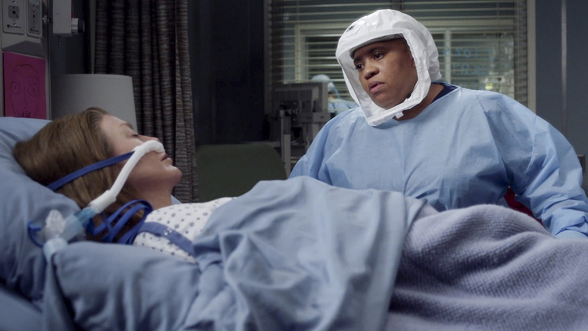 Foto Grey's Anatomy 17 - Meredith Grey e Miranda Bailey