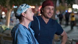Foto Grey's Anatomy - Meredith Grey e Nathan Riggs
