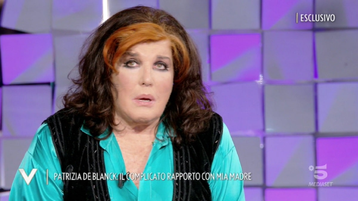 Foto Patrizia De Blanck Shock Sulla Madre A Verissimo