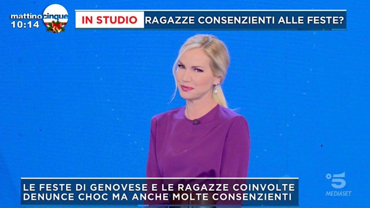Foto Federica Panicucci ospite interrotto