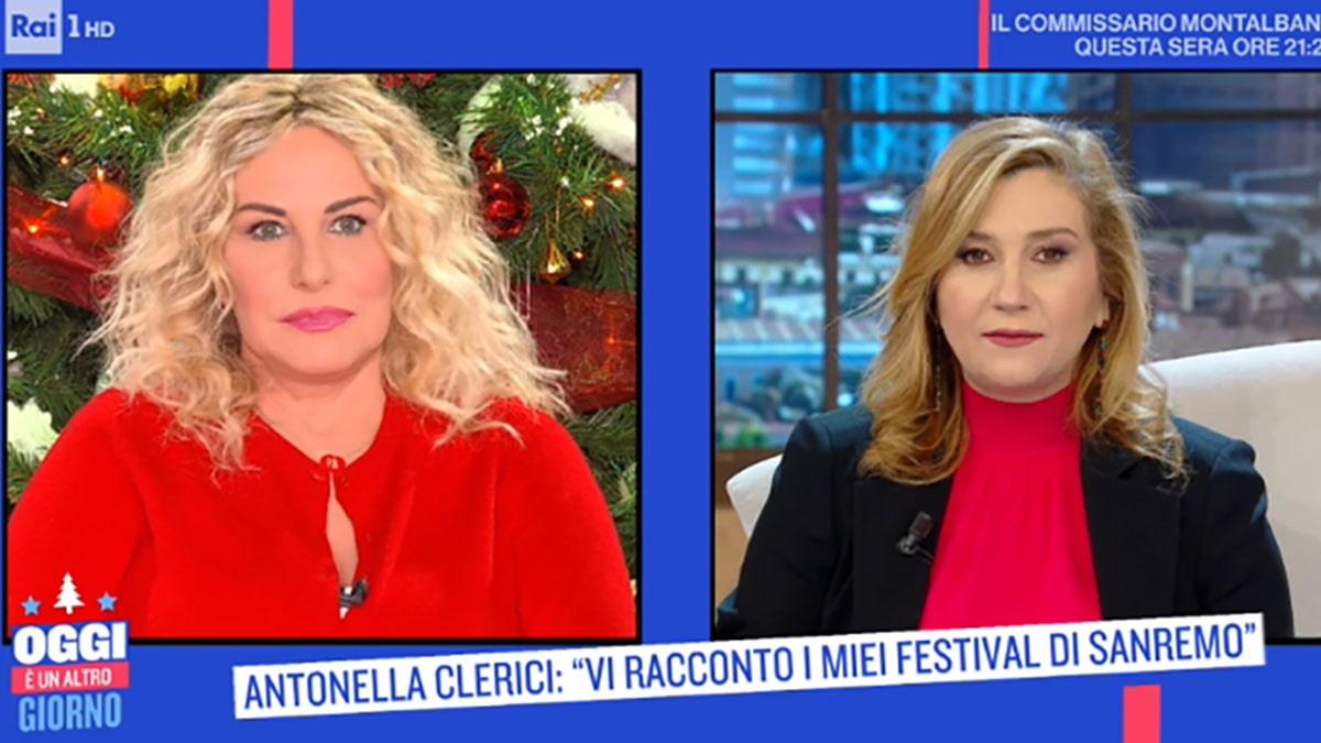 foto Antonella Clerici e Serena Bortone