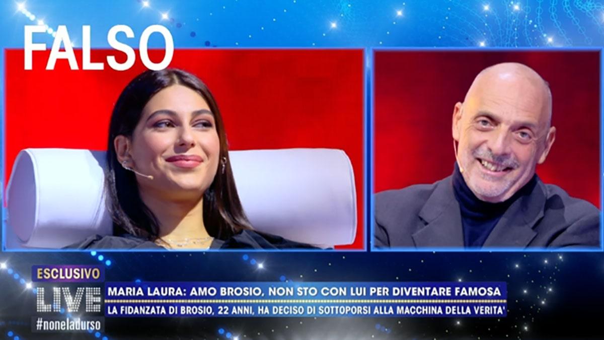 foto Paolo Brosio e Maria Laura De Vitis