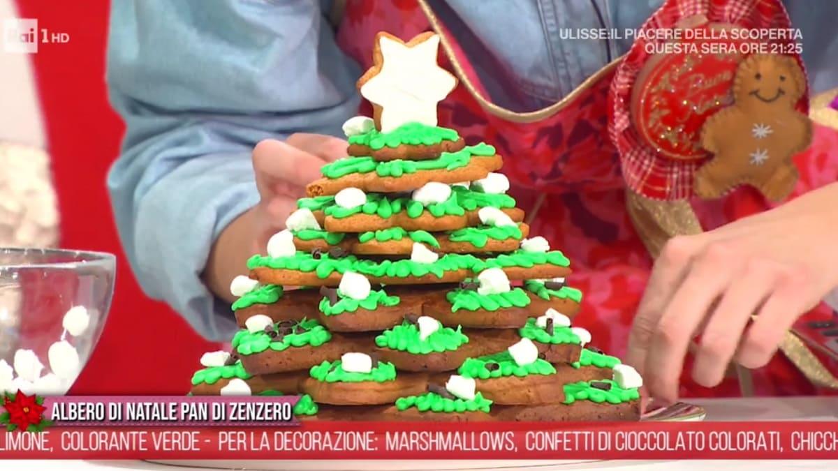 foto È sempre mezzogiorno albero di Natale pan di zenzero