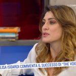 """Elisa Isoardi su Antonella Clerici a The Voice Senior: """"Coraggiosa…"""""""