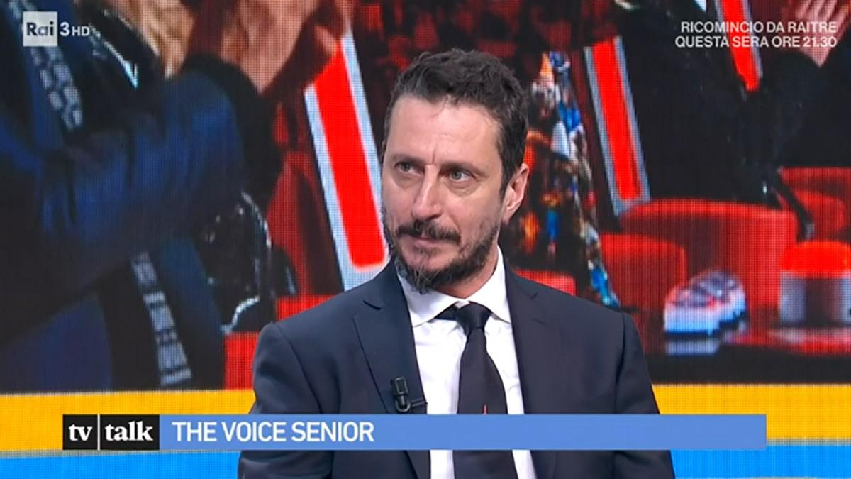foto Luca Bizzarri a Tv Talk