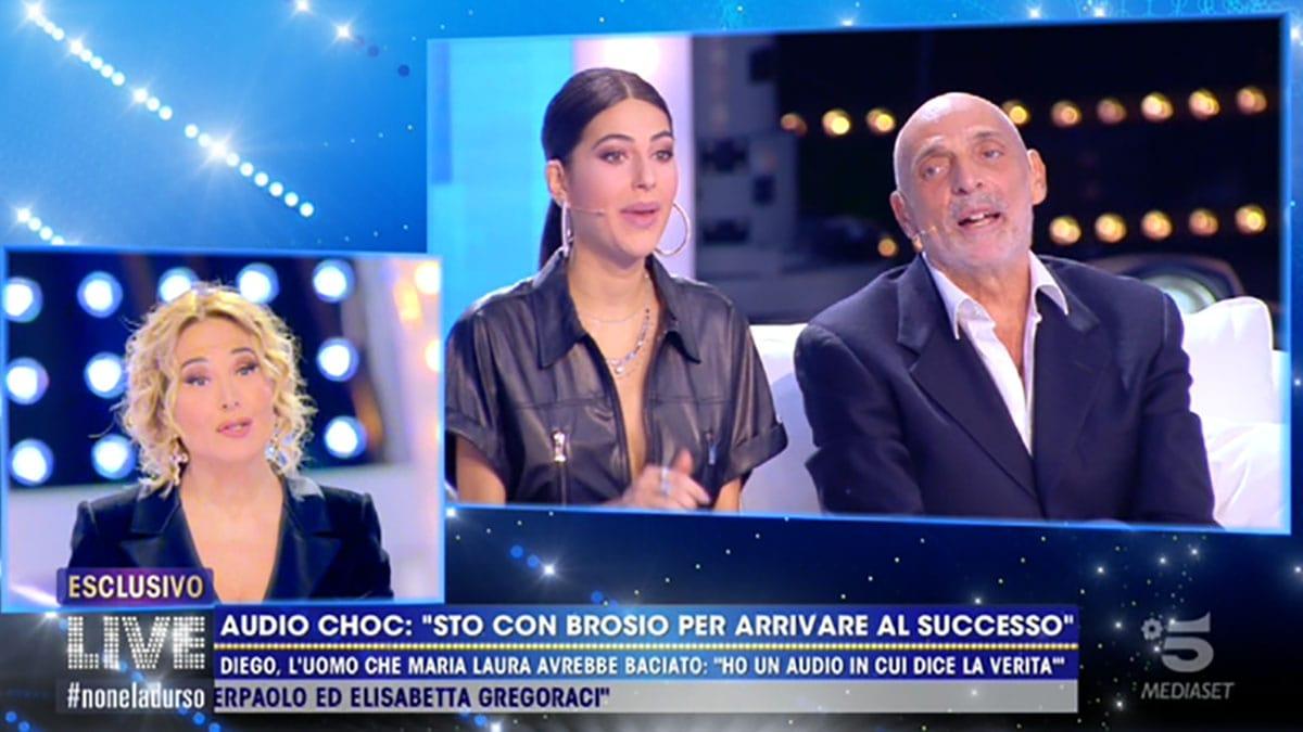 foto Maria Laura De Vitis e Paolo Brosio a Live