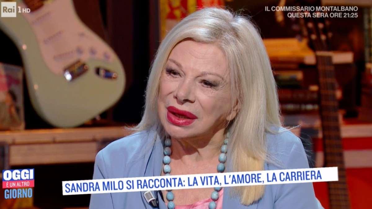Sandra Milo confessa in lacrime |
