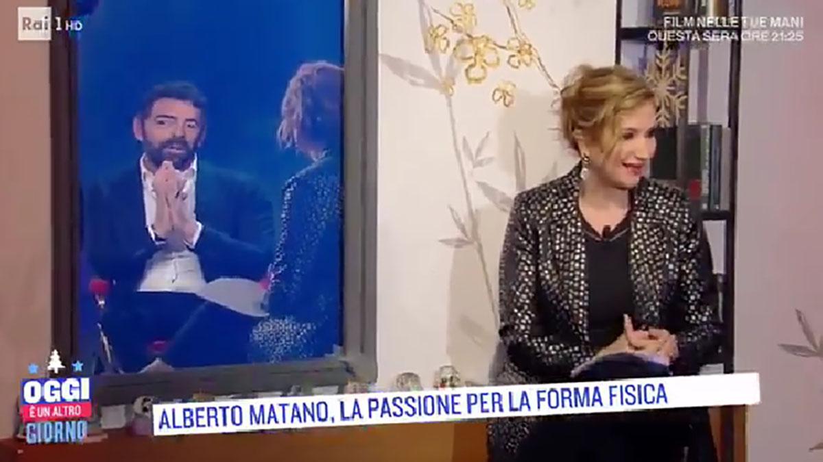 foto Serena Bortone e Alberto Matano ad Oggi è un altro giorno