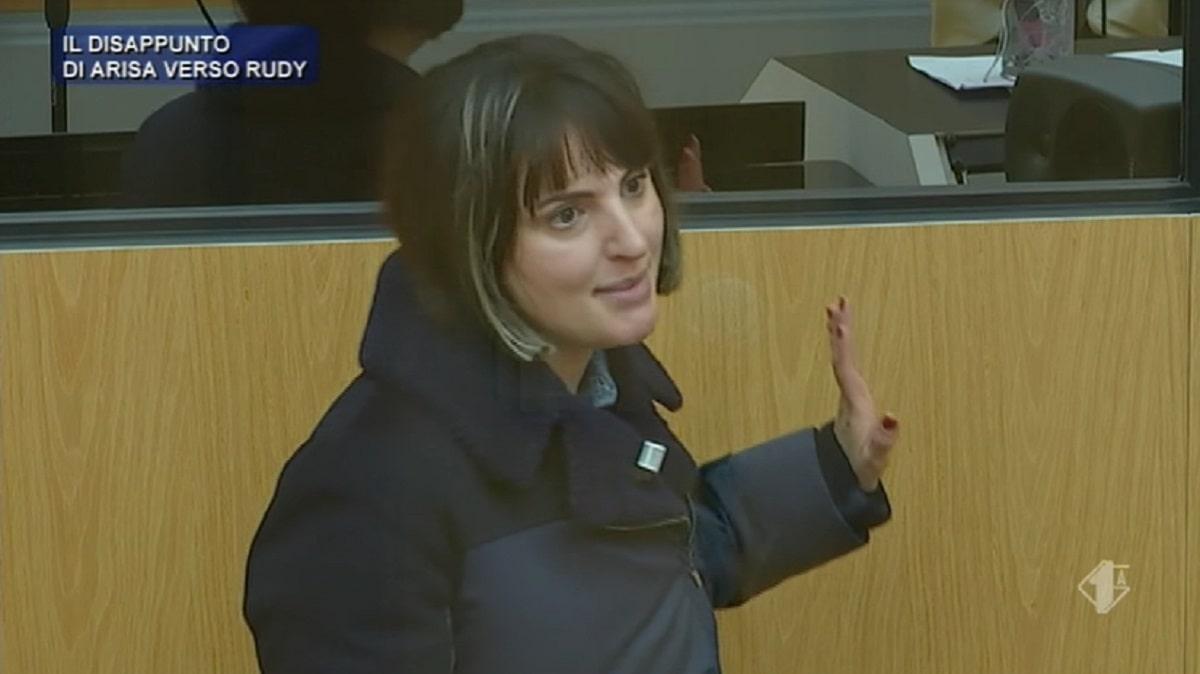 Arisa si infuria contro Rudy Zerbi ad Amici: