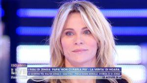 Foto Hoara Borselli Difende Walter Zenga Live Non è La d'Urso