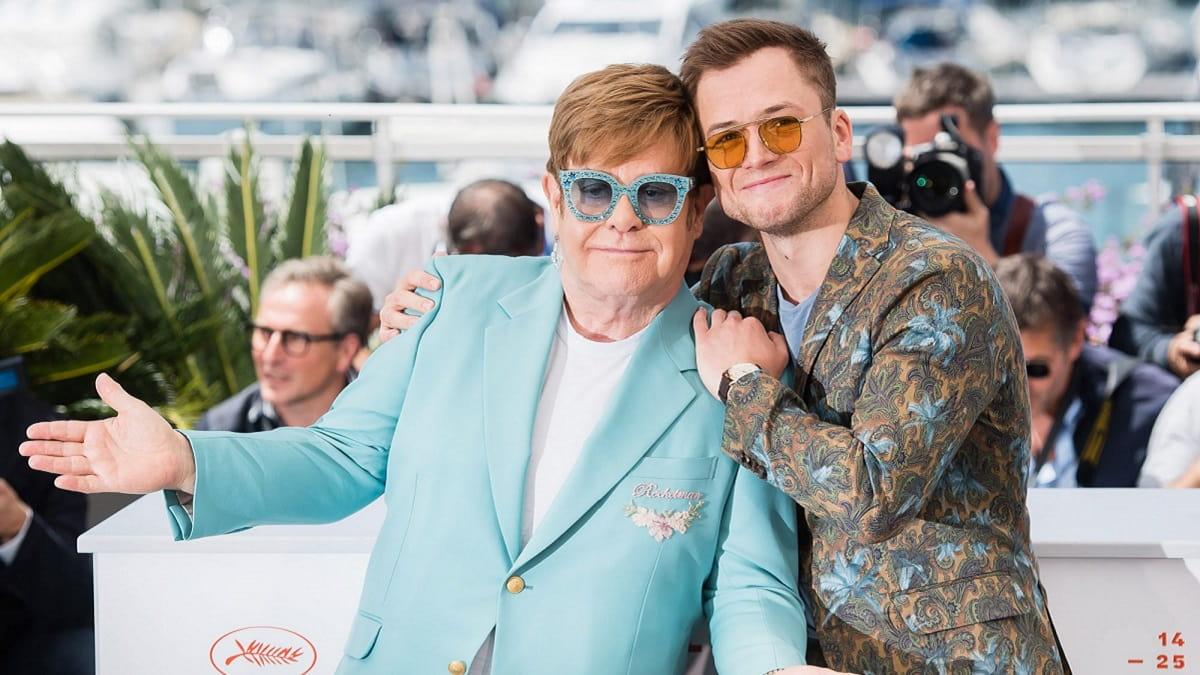 Foto Rocketman - Elton John e Taron Egerton