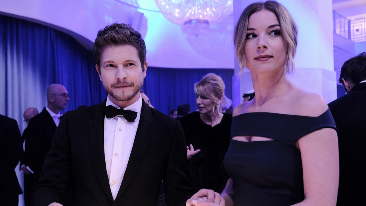 Foto The Resident Matt Czuchry e Emily VanCamp
