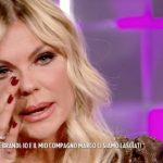 """Matilde Brandi in lacrime a Verissimo: """"Le parole feriscono"""""""