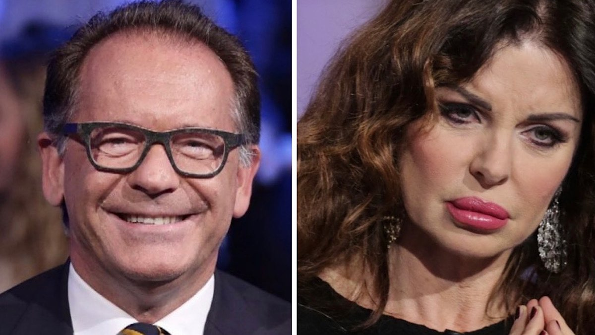 Alba Parietti criticata, Cecchi Paone la difende: