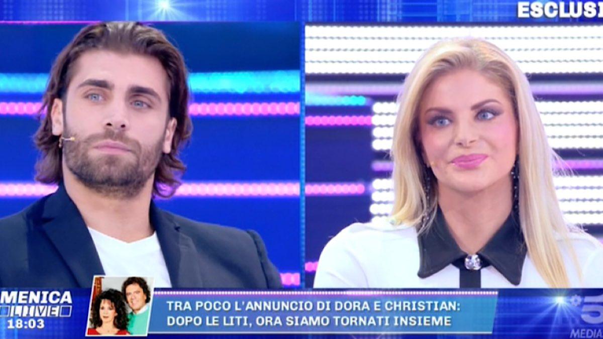 Foto Mario Ermito Francesca Cipriani Domenica Live