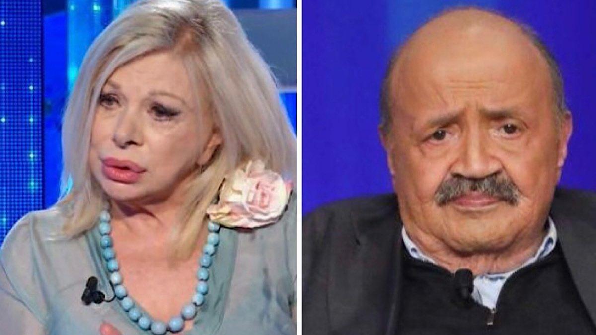 Sandra Milo criticata per il suo fidanzato. Maurizio Costanzo s'infuria
