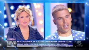 foto Abraham Garcia Arevalo Giulia Salemi Live Non è la D'Urso