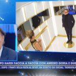 """Live, Guenda Goria contro Filippo Nardi: """"Non capisco se ci sei o ci fai"""""""