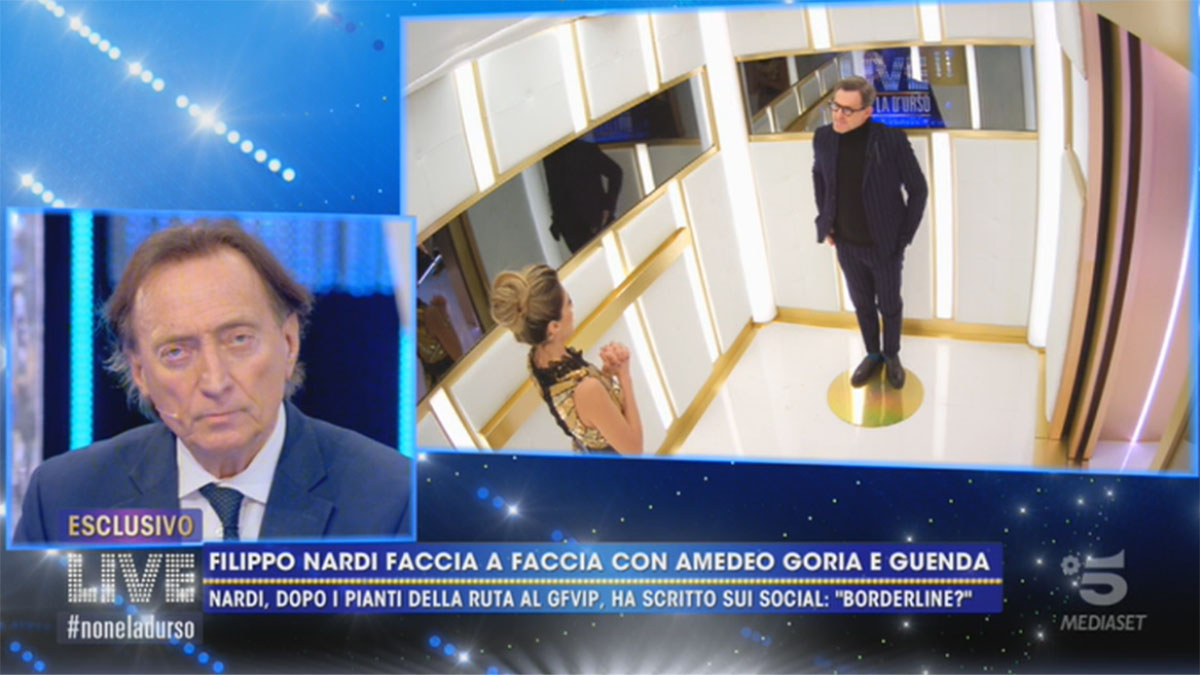 foto Amedeo Goria Guenda Goria e Filippo Nardi a Live