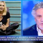 """Stefania Orlando, Andrea Roncato rompe il silenzio a Live: """"Aveva un altro"""""""