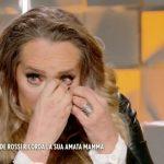 """Barbara De Rossi, crollo emotivo a Verissimo: """"È stato molto pesante"""""""
