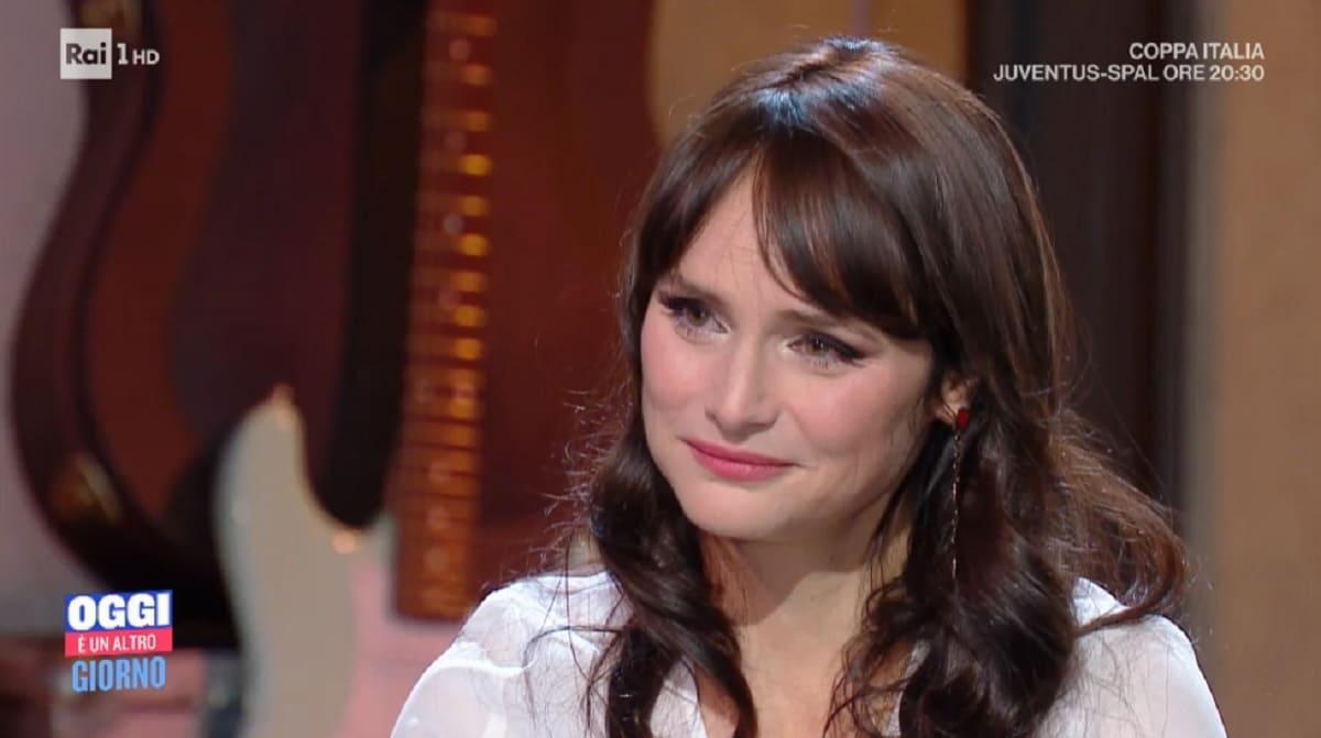 foto Bianchetti lacrime da Serena Bortone