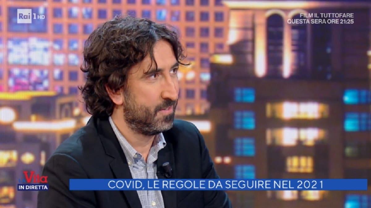foto di Massimo Cannoletta a La vita in diretta del 4 gennaio