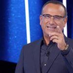 """Tale e Quale Show, Carlo Conti colpito da una concorrente: """"Si è messa in gioco"""""""