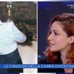"""Andrea Delogu stupita da una frase di Alberto Matano: """"Scherzi?!"""""""